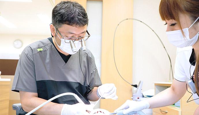 経験豊富なドクターによる安心・安全の抜歯